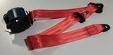 Veiligheidsgordel Kleur rood