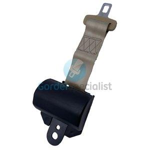 Beige 2 puntgordel automatisch / veiligheidsgordel / Autogordel -  1 dag levertijd